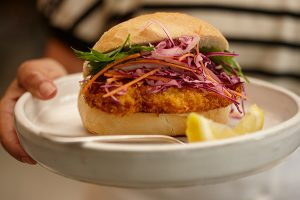 Crusty Kerala Chicken Schnitzel - Zest Byron Bay