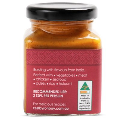 Indian Spice Paste - Zest Byron Bay