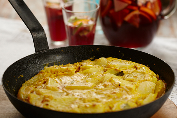 Kerala Influenced Spanish Tortilla - Zest Byron Bay