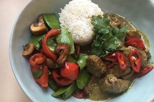 Massaman Chicken or Beef Curry - Zest Byron Bay