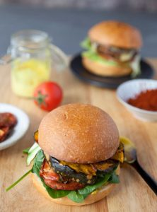 Moroccan Spiced Vege Burgers