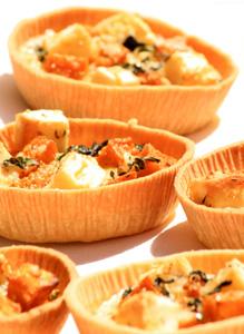 Indian Spiced Pumpkin, Bangalow Fetta & Silverbeet Tart - Zest Byron Bay