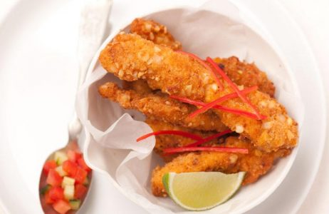 Spiced Crispy Chicken Strips