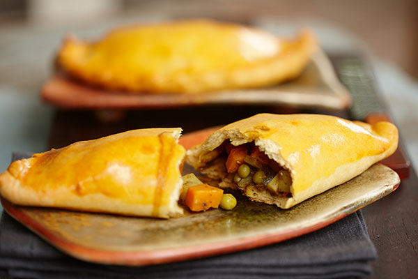 Vindaloo Spiked Cornish Pasties - Zest Byron Bay