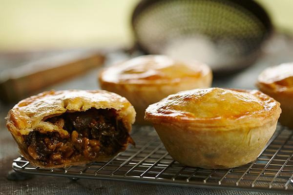 Bangin' Barley, Mushroom & Kale Rendang Pies - Zest Byron Bay