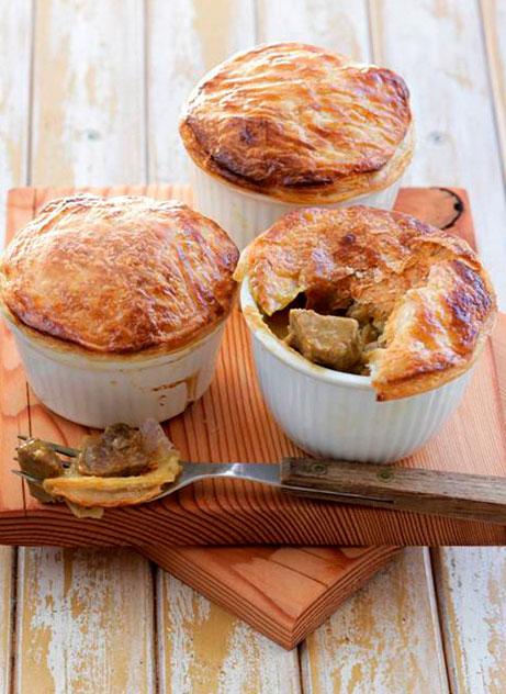 Rogan Josh Pot Pies - Zest Byron Bay