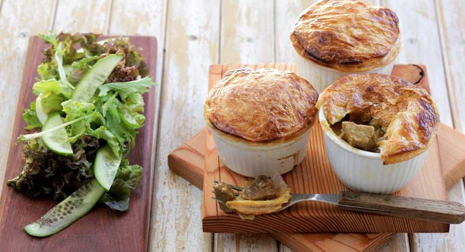 Rogan Josh Pot Pies - Zest Byron Bay