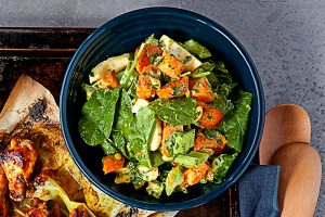 Sweet Potato Salad with Sri Lankan Mayo - Zest Byron Bay
