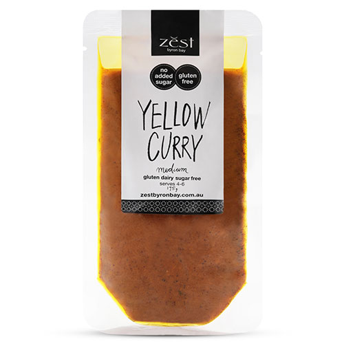 Yellow Curry - Zest Byron Bay