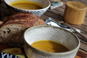 Zest Pumpkin Soup - Zest Byron Bay
